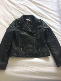 Leather jacket age 8