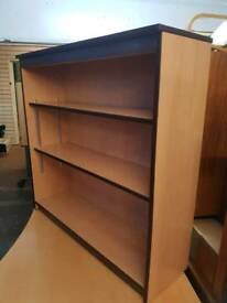 Bookcase / Shelving Unit - Solid 2 Shelf Bookcase / Shelving Unit