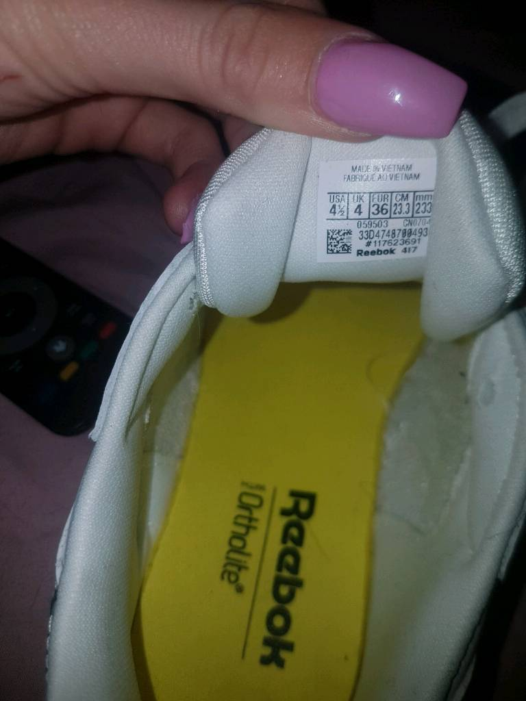Reebok trainers for sale