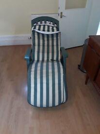 Reclining Garden / Patio Chair