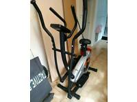 Exercise cycle cross trainer
