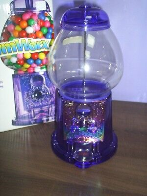 Best Gift New Purple Acrylic GumBall Machine with free ford gumballs