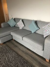 'House beautiful' dfs corner sofa