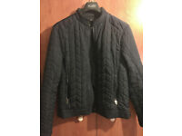 Zara QUILTED BOMBER JACKET £30