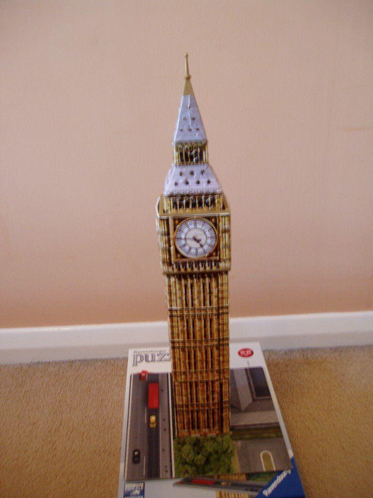 Big Ben Ravensburger 3D Puzzle