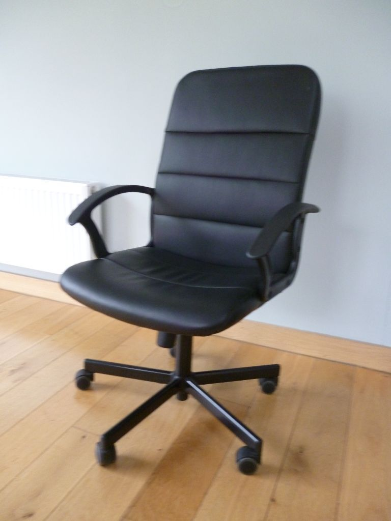 Ikea Quot Torkel Quot Swivel Chair Black Ready Assembled Used