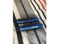 7/8' blue grips