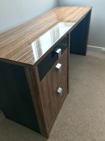 Beautiful Desk, Bedside Table and Chest of Drawers Set