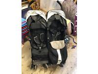 Mcclaren double pushchair/buggy