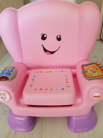 Fisher-Price Laugh & Learn Smart Stage Chair Pink,toddler chair,Fisher Price