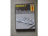 Haynes Workshop Manual for Renault 25