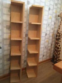 Book/CD shelves