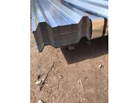 💈2.4M Galvanised Box Profile Roof Sheets