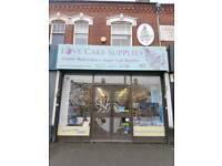 Cake and sugarcraft supply business