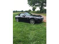 2009 1.8 Mazda MX5 MK3.5 in Gloss Black. 34k. Full Mazda Service History.