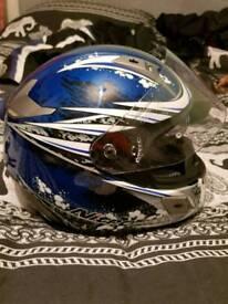 Bike helmet Nolan nitro used once