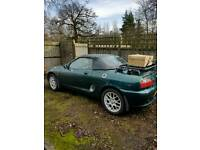 Mg Mgf 1.8i with loads of extra's