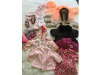 Girls winter bundle 6-9 months