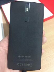 Oneplus One 64GB Sandstone Black with box and charger