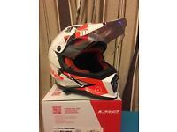 LS2 pioneer helmet 'M'