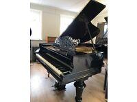 Steinweg Naught (Steinway) black 6ft Grand Piano| Belfast