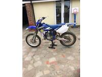 Yamaha YZ250 road legal 2003