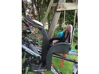 Weeride deluxe child's bike seat