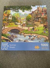1000 piece 'Summer Stream' jigsaw