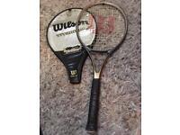 Wilson titanium stretch tennis racket