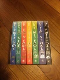 Artemis fowls series (books 1-7)