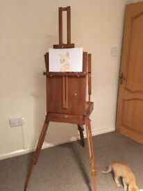 Wooden French Artists Easel
