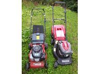 6 petrol lawnmowers £70 the lot