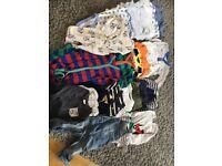 Huge bundle boys 6-9 month clothes