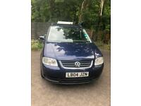 VW Touran spares or repairs