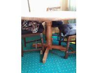 Chunky Vintage Pine Table - ONO