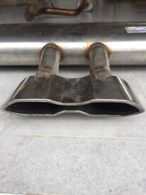 Exhaust for Ford Focus ST 250 Mk3