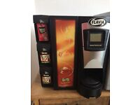Used cafe set up for sale. Coffee machine, tables, chairs, fridges