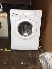 Hotpoint white 6 kilo washing machine