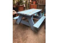 Garden kids picnic table