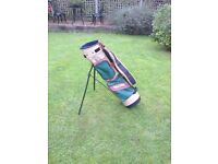 Golf Bag, Ben Sayers lightweight carry bag with stand