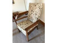 Parker Knolls high back chair. VGC