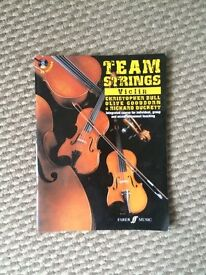 Team Strings Violin Book with CD