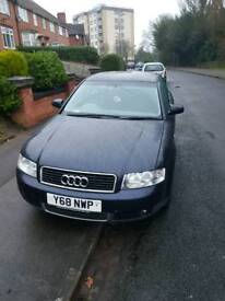 Audi A4 spare and repair (gearbox probl)