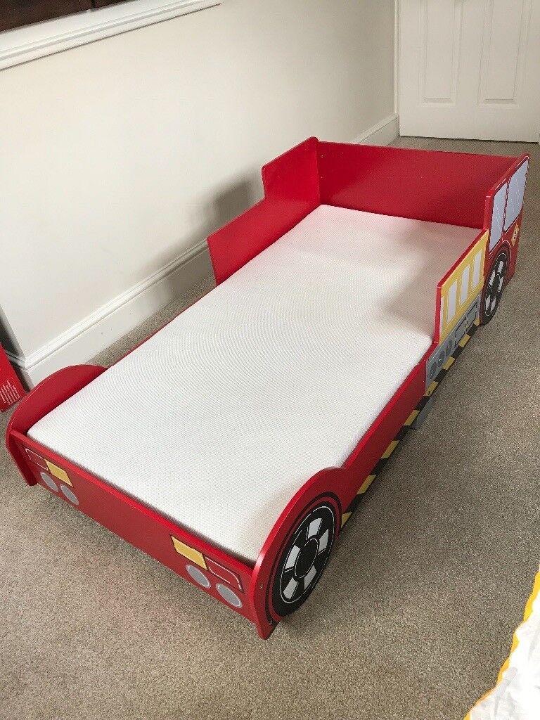 Fire engine toddler bed | in Fleet, Hampshire | Gumtree