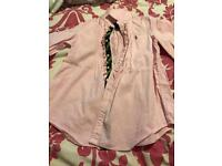 Girls Pink Ralph Lauren shirt