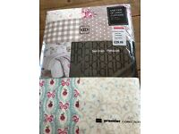 Brand new unopened curtains shabby chic style