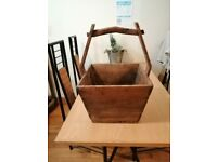 VERY LARGE ANTIQUE CHINESE WATER/RICE BUCKET c1900's