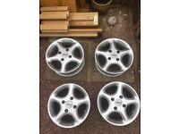 Rare 13inch alloy wheels