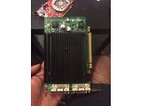 NVIDIA Quadro NVS 440 graphics card - 2 GPUs - Quadro NVS 440 - 256 MB