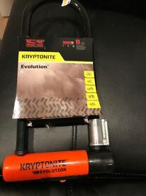 New Kryptonite Evolution Long U-Lock RRP £90
